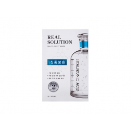 Real Solution Tencel Sheet Mask HYALURONIC ACID ( Intensive Moisturizing )
