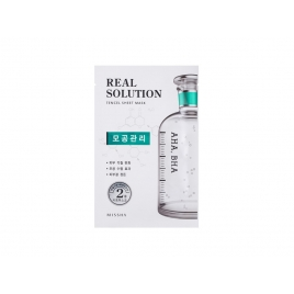Real Solution Tencel Sheet Mask AHA, BHA (Pore Control)