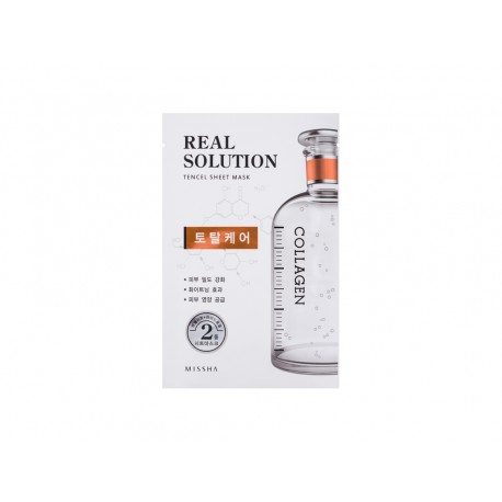 Real Solution Tencel Sheet Mask COLLAGEN (Total Care)
