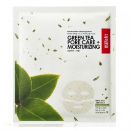 Green Tea Flake Hydrogel Mask