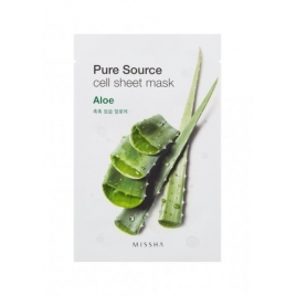 Pure Source Cell Sheet Mask (Aloes)
