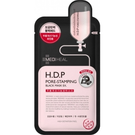 H.D.P Pore-Stamping Black Mask EX. - Czarna maska oczyszczająco-napinająca