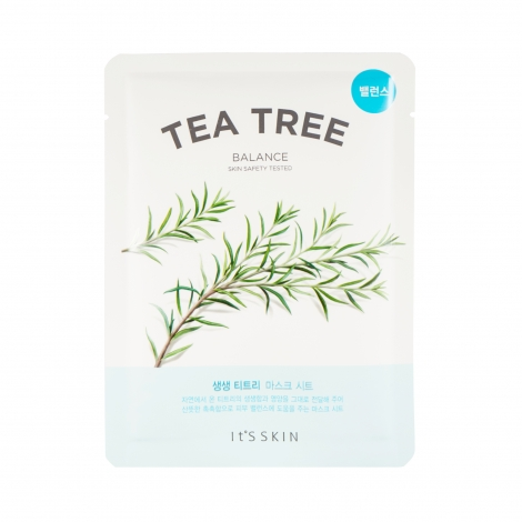 The Fresh Mask Sheet Tea Tree Maska w płachcie