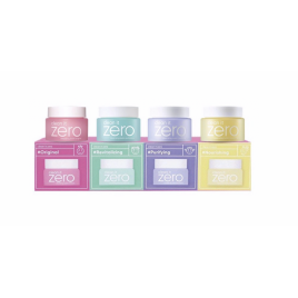 Zestaw: Clean it Zero Cleansing Balm Original Miniature Set (4 rodzaje)