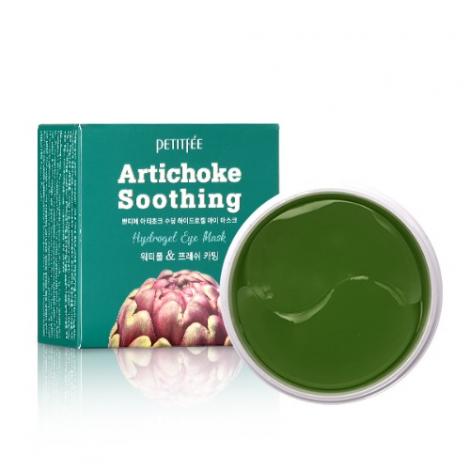 Petitfee Artichoke Soothing Hydrogel Eye Mask 60 szt