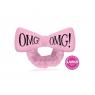 Double Dare, OMG! Mega Hair Band (Duża opaska do włosów) różowa