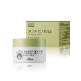 YADAH Green Tea Pure Cleansing Balm, Balsam do demakijażu z zieloną herbatą