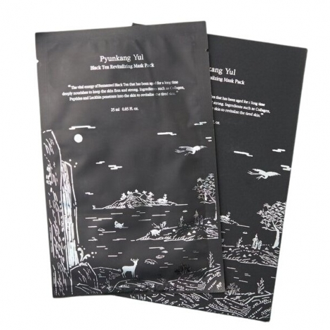 Pyunkang Yul Black Tea Revitalizing Mask Pack 25ml