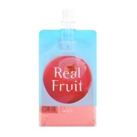 Real Fruit Soothing Gel Cranberry