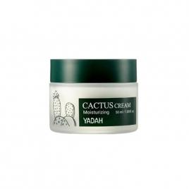 YADAH Cactus Cream, Nawilżający krem z opuncją figową, 50 ml