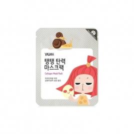 YADAH Collagen Mask Pack, Kolagenowa maska w płachcie, 25 g