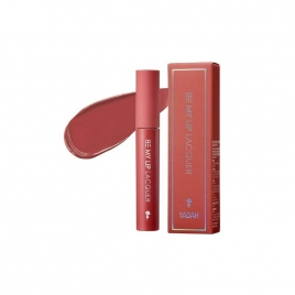 YADAH Be My Lip Lacquer, Długotrwały lakier do ust, 4 g 02 Chili red