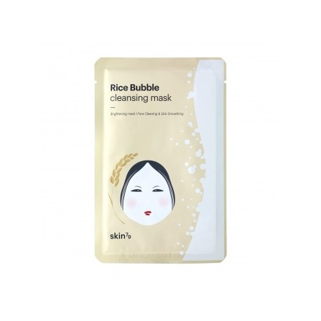 NOWOŚĆ ! ! ! SKIN79 - Rice - Bubble Cleansing Mask - 23 ml.